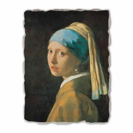 """stora fresk handgjorda Vermeer """"flicka med en Turban"""""""