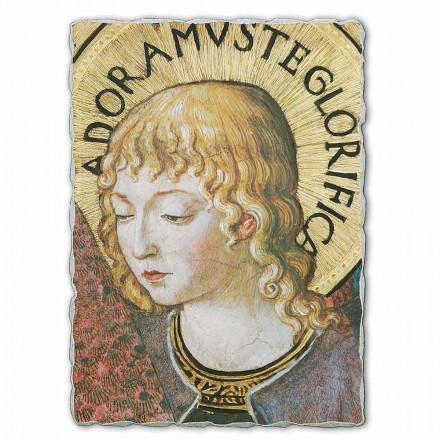 """stora fresk Gozzoli """"körer av änglar i tillbedjan"""" -1454"""