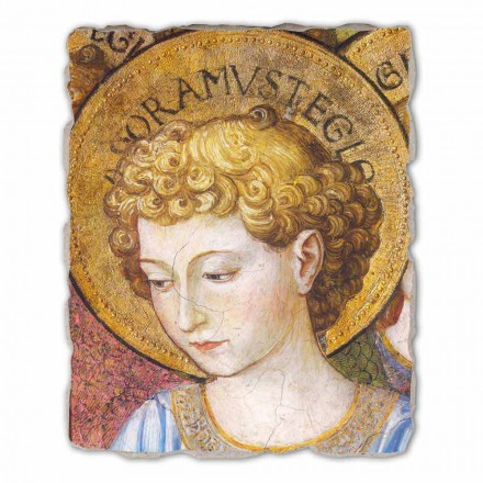 """stora fresk Gozzoli """"körer av änglar i tillbedjan"""" - 1454 ca"""