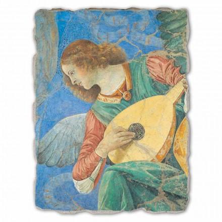 """stor fresk av Melozzo da Forlì """"Ängelmusiker"""""""