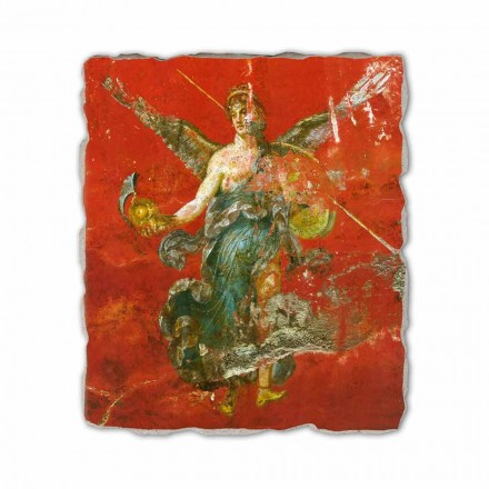 """Roman fresco reproduktion """"Cykel av musorna"""" del."""