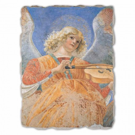 "Fresco Bra spel Melozzo da Forlì ""Ängelmusiker"""