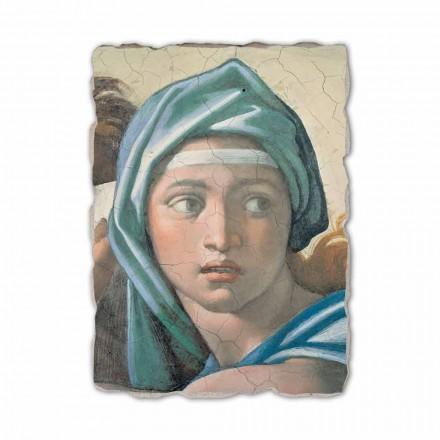 "Michel fresco reproduktion ""Delphic Sibyl"""