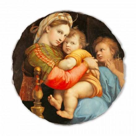 """Fresco reproduktion Raffaello Sanzio """"Madonna av ordföranden"""""""