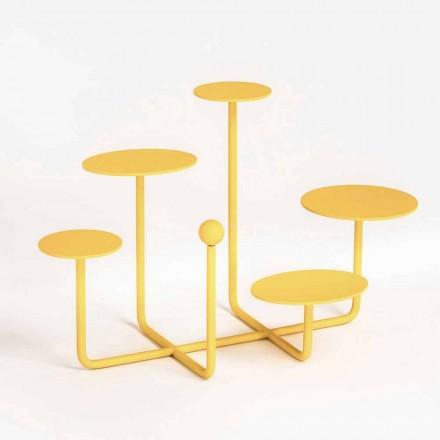 Design godisstativ i målat stål tillverkat i Italien - Pennellope