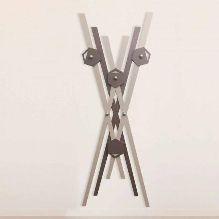 Vägghängare Modern design färgat trä för entré - Picasso