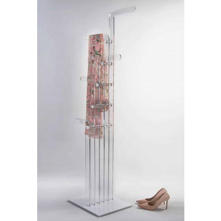 Modernt gjuten golvhängare i akrylkristall, Elva