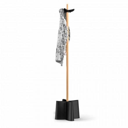 Coat paraplyställ i bok och polypropylen Nurri