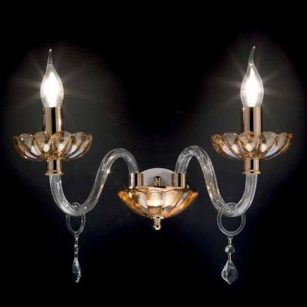 Wall 2 designklassiker lampor i kristall och glas Fine