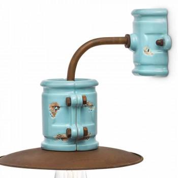 Applikation till spotlight vägg keramik och metall hantverk Katy