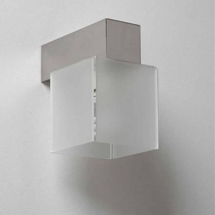 Lampa med skärm modern design, L.11 x P.11cm, Matis