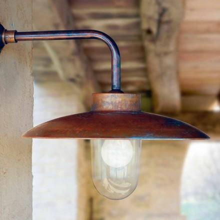 Vägglampa Nabucco, belysning linje Brass