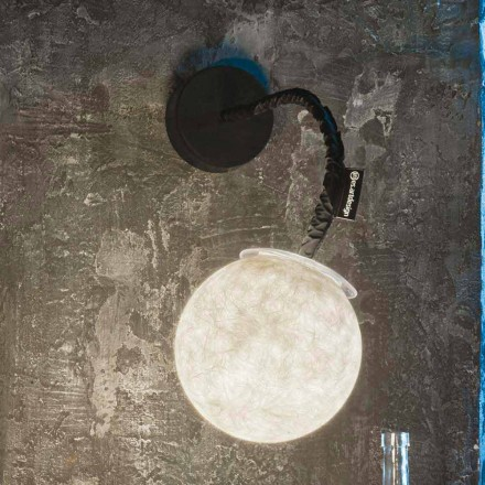 Samtida väggljus In-es.artdesign Micro Luna Applique i nebulit