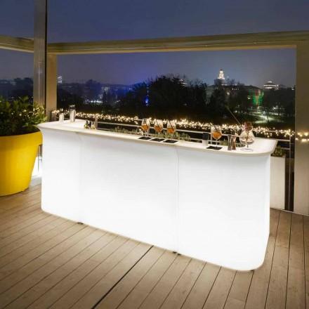 Samtida design trädgårdsljus barräknare Slide Break Line