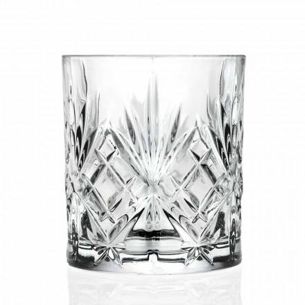 Dubbel gammaldags glas, Vintage Style Eco Crystal 12 stycken - Cantabile
