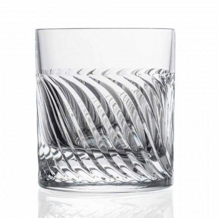 Lyxig Eco Crystal DOF Design Whiskyglasögon 12 stycken - arytmi
