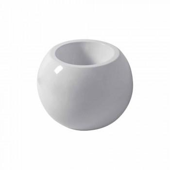 Bollformad bidé i Fanna färgad keramik