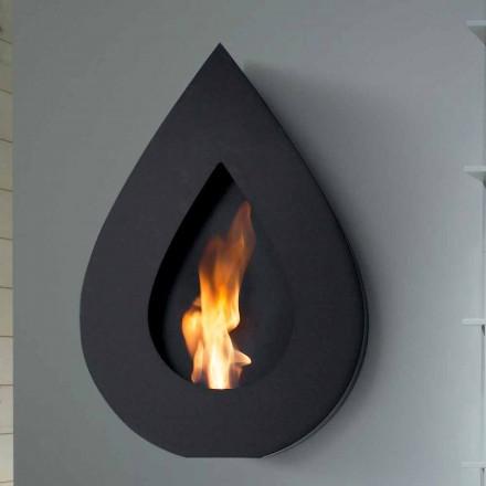 Biocamino Modern Wall bioetanol till Joseph flamma form
