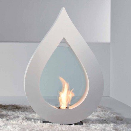 Biocamino från bioetanol jord, eld-formade modern design Todd