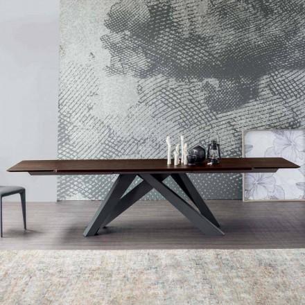 Bonaldo Big Table extensibelt bord av italiensk design trä
