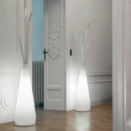 Bonaldo Kadou täckhylla med polyeten designljus tillverkat i Italien
