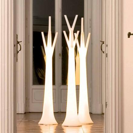 Bonaldo Tree hängare med ljus tillverkat av polyeten tillverkad i Italien