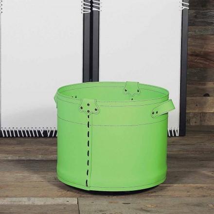 Logghållare i 100% Tillverkad i Italien Cartesio Leather