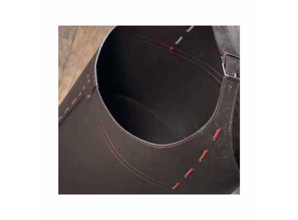 100% tillverkad i Italien Michelangelo läderpåse