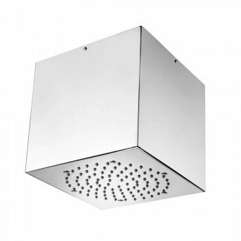 Bossini Cube duschmunstycke belagt stål till en modern jet