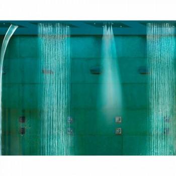 Bossini dröm duschmunstycke med tre strålar med modern färgterapi
