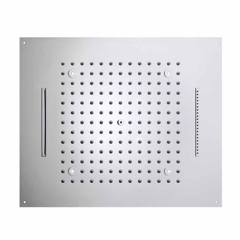 Bossini dröm duschmunstycke med tre strålar med moderna LED-lampor