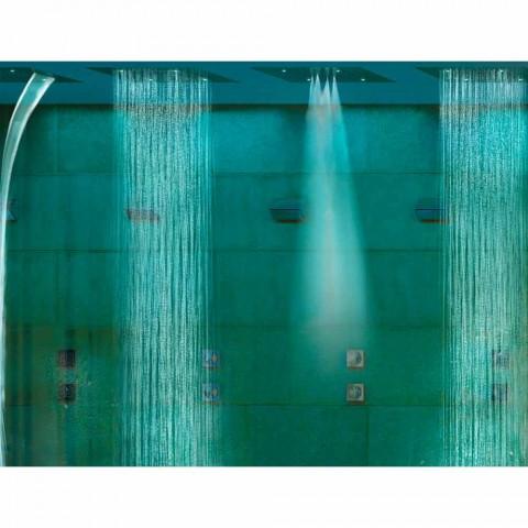 Bossini dröm duschmunstycke med färgterapi och fyra funktioner