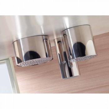 Bossini Oki duschmunstycke runt i en stråle modern stil
