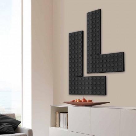 Tegel radiator elektrisk lego gjord i Italien av Scirocco H