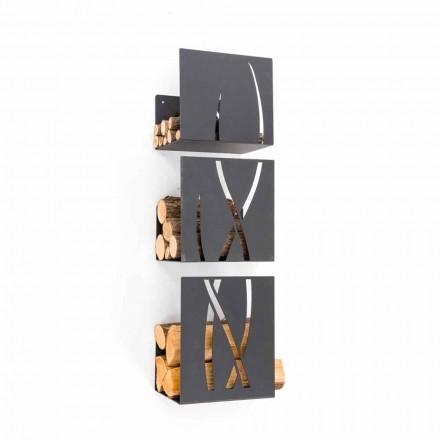 Caf Design Trio ved hållaren genom stålvägg som gjorts i Italien