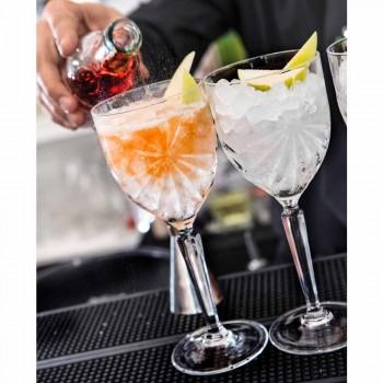 12 stycken ekologiskt kristallvin eller vattenglas - Daniele