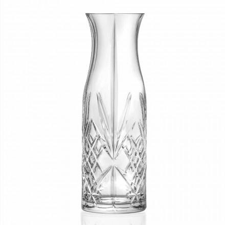 Vintage Design Eco Crystal vatten- eller vinkanna 4 delar - Cantabile