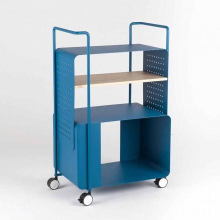 Designvagn i stål med asktopp tillverkad i Italien - Murella