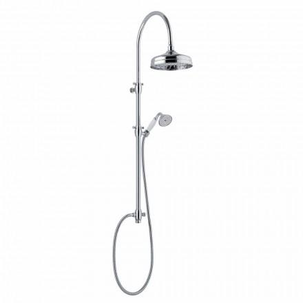 Teleskopisk duschpelare i mässing Klassisk design Tillverkad i Italien - Nesto