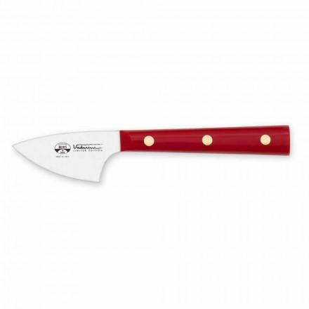 Hårdostkniv i rostfritt stål, Berti exklusivt för Viadurini - augusti