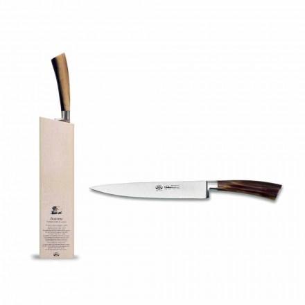 Fiskkniv utrustad med block, Berti exklusiv för Viadurini - Reano
