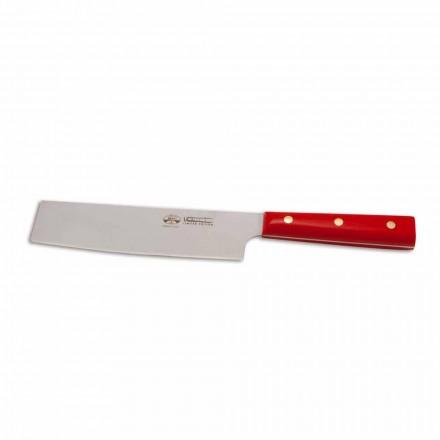 Grönsakskniv i rostfritt stål, Berti Exclusive för Viadurini-Binago