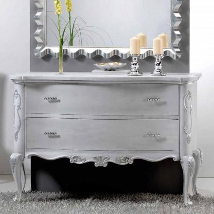 Dresser klassisk design och massivt trä handtag Bone Crystal