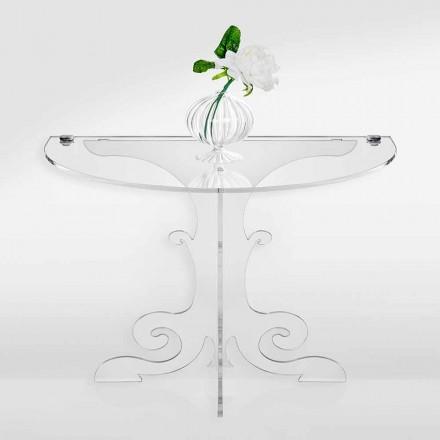 Klassisk design nattduksbord i akrylkristall och PMMA, Tiana
