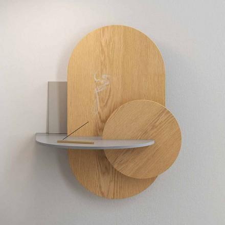 Nattduksbord i plywood består av 3 modulpaneler Modern design - Zita