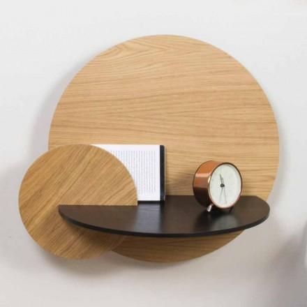 Modulärt sängbord Elegant design i plywood med dold fack - Bigno