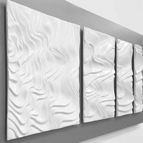 Väggsammansättning av designdekoration i modern abstrakt keramik - Verno