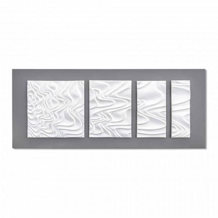 Abstrakt modern design keramisk väggkomposition tillverkad i Italien - Verno