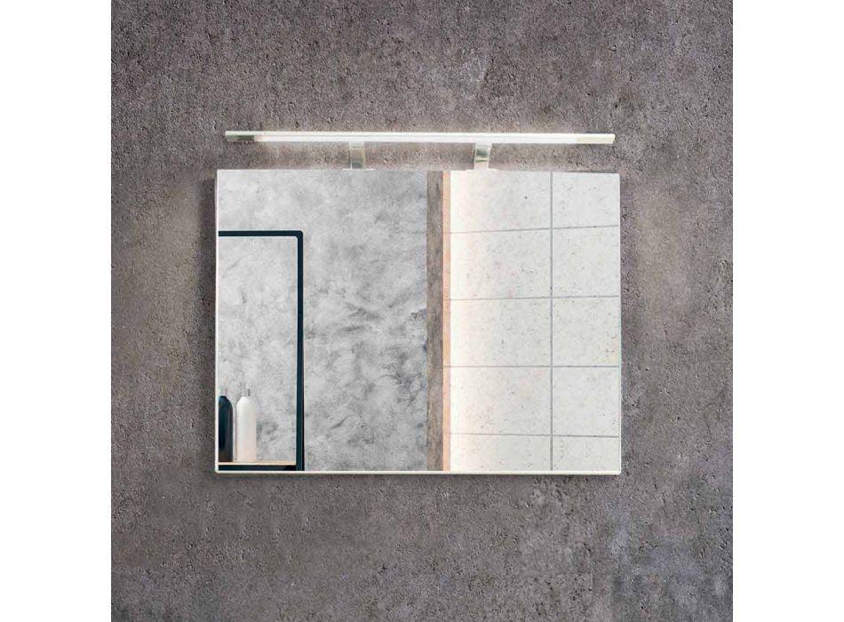 Komposition Suspenderat badrum i Mdf lackerat tillverkat i Italien - Becky