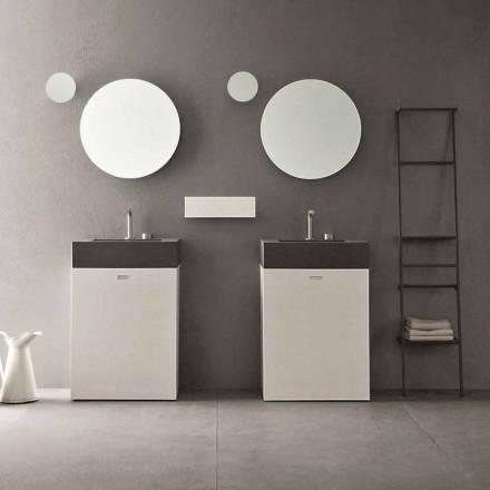Golvkomposition av badrumsmöbler för modern design - Farart10